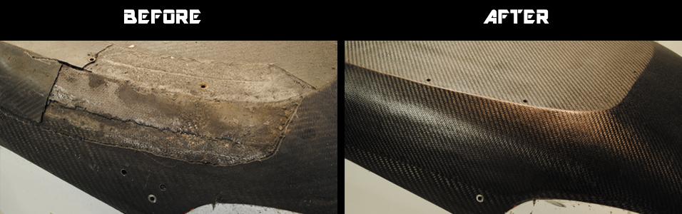 Formula Renault Chassis Carbon Fibre Repair