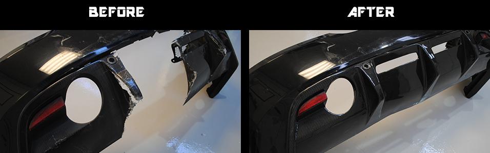 Aston Martin DBS Rear Diffuser